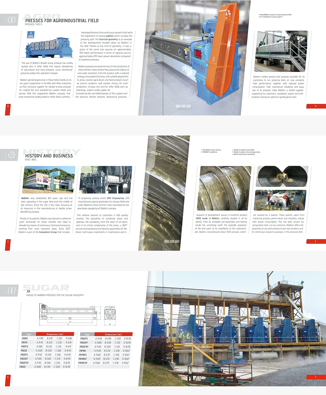 Creazione brochure