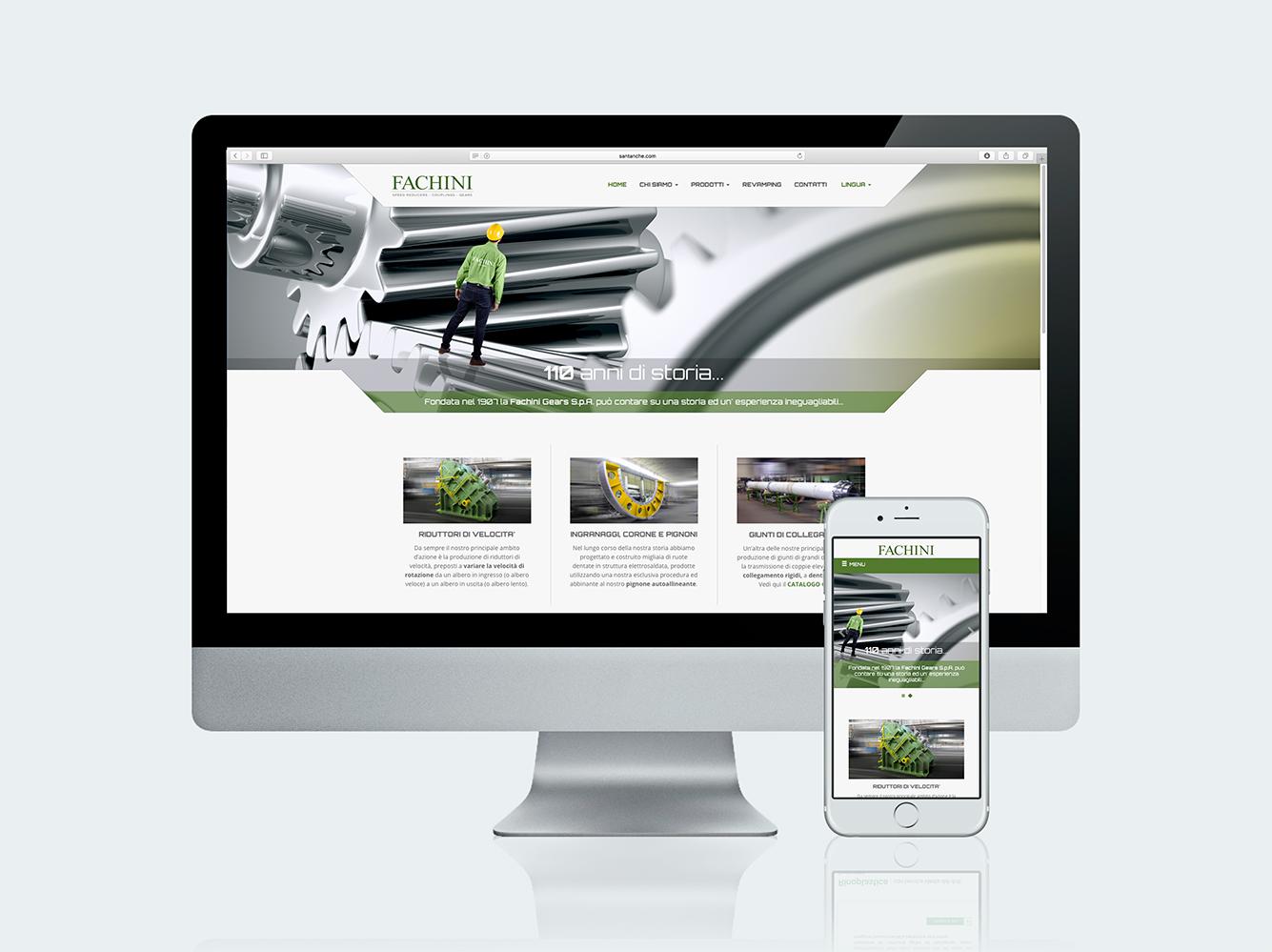 Creazione siti web - Fachini Gears