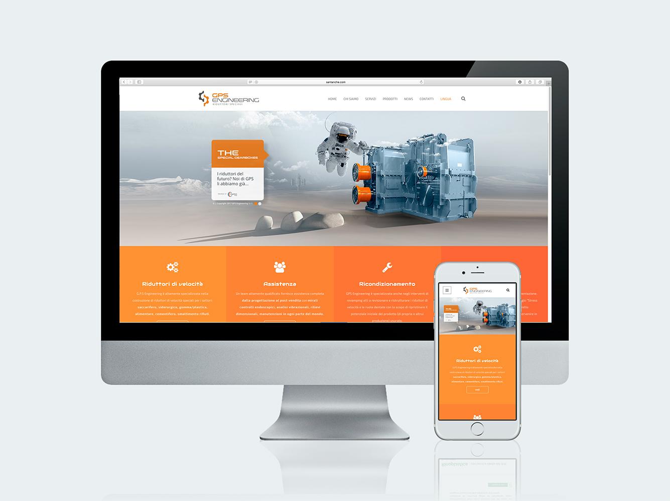 Ideazione siti WEB - GPS
