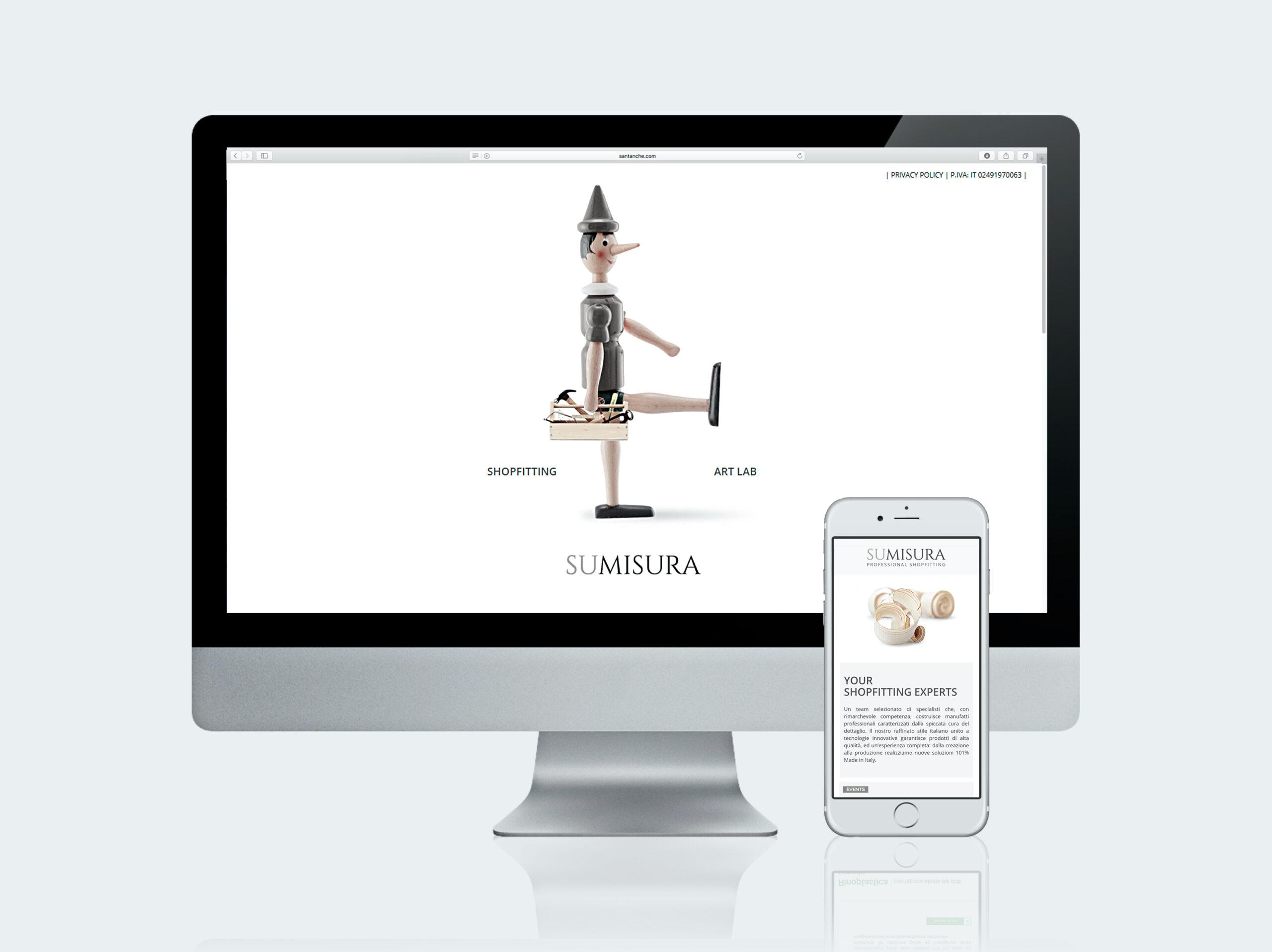 Creazione siti internet - Su Misura