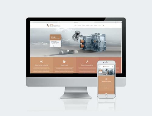 Ideazione sito WEB | GPS Engineering (MI)